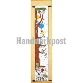borduurpakket winnie de pooh classic, groeimeter/meetlat