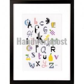 borduurpakket abstract a.b.c.