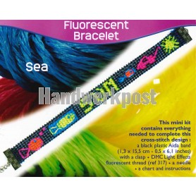 borduurpakket armband zeedieren, zon