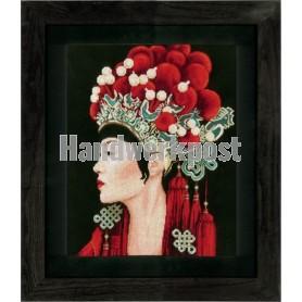 """borduurpakket """"asian beauty"""""""