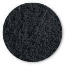 badstof badlaken, zwart (incl. aida borduurrand)
