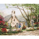 borduurpakket engelse cottage