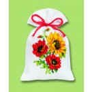borduurpakket kruidenzakje, bloemen-1