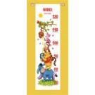 borduurpakket winnie de pooh, groeimeter/meetlat yannick