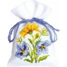 borduurpakket kruidenzakje, blauw/gele bloemen-2