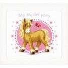 """borduurpakket """"my little pony"""""""