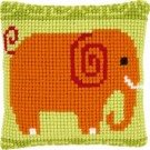 kruissteekkussen olifant