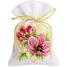 borduurpakket kruidenzakje, anemonen