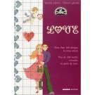 kruissteekpatronenboek huwelijk-liefde