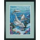 borduurpakket dolfijnen