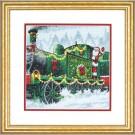 borduurpakket kersttrein in aantocht...