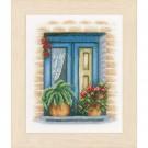 borduurpakket blauw raam