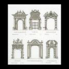 borduurpakket amsterdamse poorten