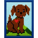 kruissteekwandkleed hondje-1