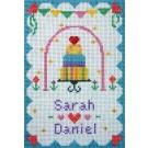 borduurpakket huwelijk sarah-daniel
