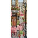 borduurpakket stadscene in parijs