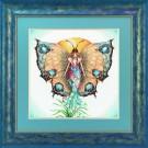 borduurpakket vlinder, dag