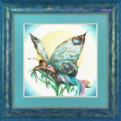 borduurpakket vlinder, nacht